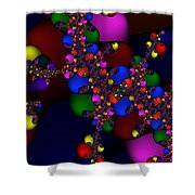 3x1 Abstract 908 Shower Curtain
