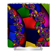 3x1 Abstract 909 Shower Curtain