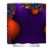 3x1 Abstract 910 Shower Curtain