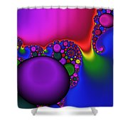 3x1 Abstract 914 Shower Curtain