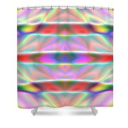 3x1 Abstract 916 Shower Curtain