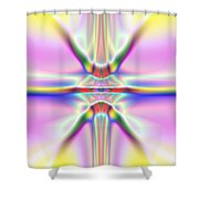 3x1 Abstract 917 Shower Curtain