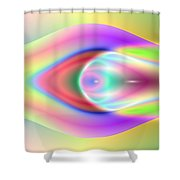 3x1 Abstract 921 Shower Curtain