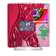 4-1-2015fabcd Shower Curtain
