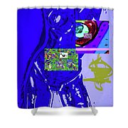 4-1-2015fabcdefghijklmn Shower Curtain