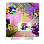 4-18-2015babcdefghijklmnopqrtuvwx Shower Curtain