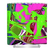 4-19-2015babcdef Shower Curtain