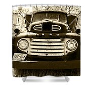 1949 Ford Truck Shower Curtain