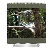 4-22-16--8699 Don't Drop The Crystal Ball, Crystal Ball Photography  Shower Curtain