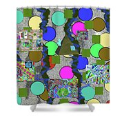 4-8-2015abcdefghijklmnopq Shower Curtain