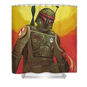 A Star Wars Art Shower Curtain