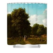 A View Of The The Haarlemmerhout Shower Curtain