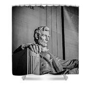 Abraham Lincoln Memorial In Washington Dc Usa Shower Curtain