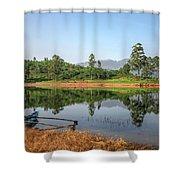 Adam's Peak - Sri Lanka Shower Curtain