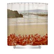 Aloha Lei Maui Hawaii Shower Curtain