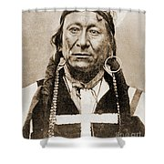 American Indian Chief Shower Curtain