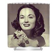 Ann Blyth, Vintage Actress Shower Curtain