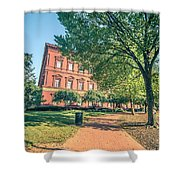 Architecture And Buildings On Streets Of Washington Dc Shower Curtain