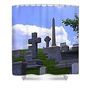Arlington Cemetery Shower Curtain
