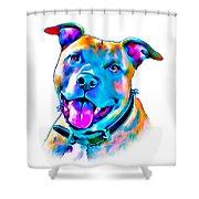 Art Dogportrait Shower Curtain