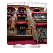Artistic Architecture In Palma Majorca, Spain Shower Curtain