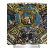 Artistic Ceilings Within The Vatican Museums In The Vatican City Shower Curtain