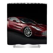 Aston Martin One-77 Shower Curtain