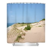 At The Edge Shower Curtain