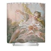 Aurora And Cephalus Shower Curtain