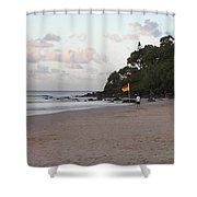 Australia - Greenmount Surf Club On Patrol Shower Curtain
