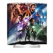 Avengers Infinity War Shower Curtain