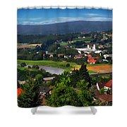 Bavarian Landscape Shower Curtain