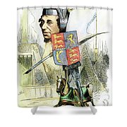 Benjamin Disraeli Shower Curtain