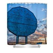 Big Nickel Shower Curtain