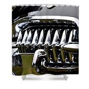 Black Corvette Shower Curtain