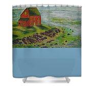 Block Island Shower Curtain