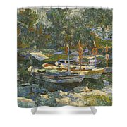 Boats Shower Curtain