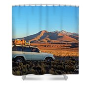 Bolivia Shower Curtain