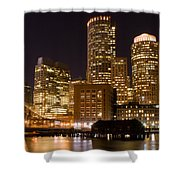 Boston Massachusetts Shower Curtain