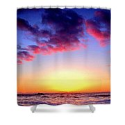 Br D Landscape Shower Curtain