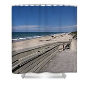 Brevard County Florida Beaches Shower Curtain