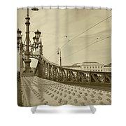 Bridges Shower Curtain