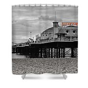 Brighton Pier Shower Curtain