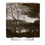 Camille Corot Shower Curtain
