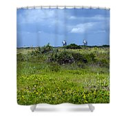 Cape Canaveral Florida Shower Curtain