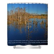 4- Carl Jung Shower Curtain