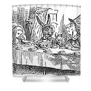Carroll: Alice, 1865 Shower Curtain