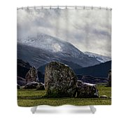 Castlerigg Stone Circle Shower Curtain