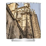 Cathedral Of Seville - Seville Spain Shower Curtain