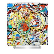 Challenge 2017- Diabetes Find A Cure Shower Curtain